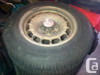 Hi, I have 4 W123 5-bolt aluminum rims off my 1984