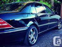 Make Mercedes-Benz Model S-Class Year 2000 Colour
