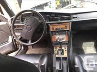 Make Mercedes-Benz Model 190E Year 1989 Colour Black