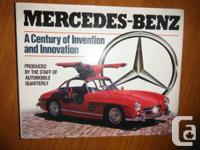 """Mercedes-Benz: A Century of Invention as well as"