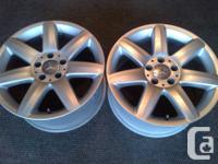 YOU ARE PURCHASING 1 MERCEDES BENZ OEM POLISHED ALLOY