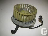 Used, Here is a Mercedes w116 blower motor that came off a for sale  British Columbia