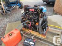 Complete Merc 120 engine, closed fresh water cooled,