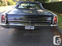 Make Mercury Model Montego Year 1968 Colour Black