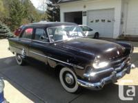 Up for sale 2 excellent autos. 1. 1953 Meteor $7,550.
