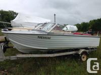 Deep hull light weight aluminum Starcraft with 65 hp