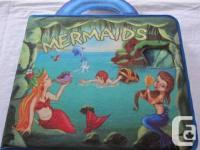Super cute mermaid playset book with over 20 felt
