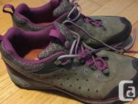 Womens size 8 hiking shoes. Excellent condition hardly