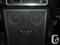 I'm looking to sell my Mesa Boogie bass rig.  It's a