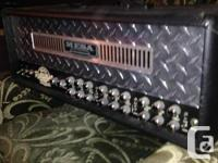This is a great amp. Three channels  Lots of power and