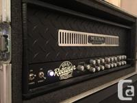 Mesa Boogie Dual Rectifier w/ roadcase for sale. Great