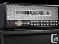 As the title says!   Mesa Dual Rec head and 4X12 cab