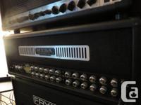 A Mesa Dual Rectifier Road King head - new tubes,