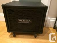 Selling my Mesa/Boogie Powerhouse 1x15 Bass Cabinet.