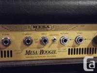 Hey everyone. I have a great amp for sale here. A Mesa