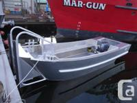 21' x 8' Building Skiff available by building