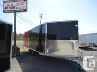 all aluminum 2014 Goal snow sled trailer, packed with