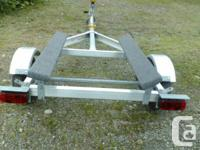 New from the manufacturing facility Tuff Trailer boat