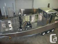 The finest boat you'll ever own.  Welded light weight