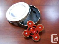 This is an all-metal spinner with bearings in the