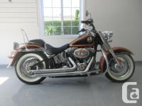 Make Harley Davidson Model Softtail Year 2008 kms 7600