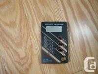 Seiko Digital Pocket Size Metronome. Largo, Larghetto,