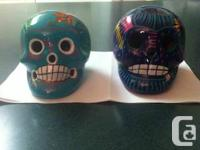 Two Mexican sugar skulls for sale pics below $20 each