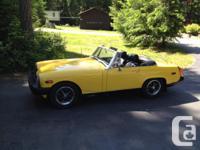 Make MG Model TD Colour Sunshine Yellow kms 38000