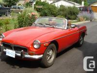 Make. MGB. Version. MGB. Year. 1974. Colour. red. kms.