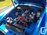 Make MGB Model MGB Year 1977 Colour Blue Trans Manual