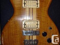 A MICHAEL KINAL ELECTRIC GUITAR - This vintage Kinal