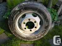 It's brand new, perfect for a spare tire for the RV