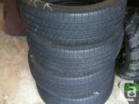 Michelin Energy LX4 235/60 r17, 70% tread left. no