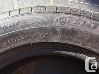 Michelin Latitude Sport 255/55 R18 109Y tires 4 tires