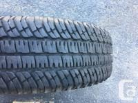 One Michelin LTX All-Terrain tire for sale. Tire is in