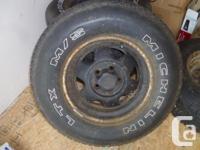 P225/75 R15 Michelin LTX M/S tires on Jeep Cherokee