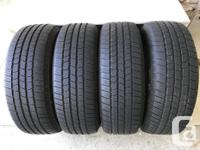 "Four Michelin LTX P235 70R 16"" 104T Tires. M+S2 Rated."