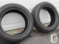 Pair of Michelin Energy MXV4 S8 93V all season tires.