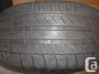 One pair of Michelin PS2 tires. Tread depth is 9.5