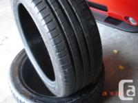 2 Michelin Super Sporting activity efficiency tires