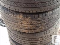Hello: I have a variety of tires and rims for sale all