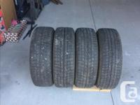 Available four studless 185/65 R15 Michelin X-ICE tires