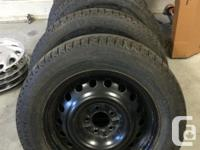 Like new (only approximately 1,500 km) , set of 4,