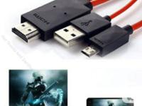 1080p HD MHL - MICRO USB TO HDMI 2 M / 6 FT SAMSUNG