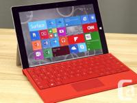 Microsoft Surface Pro 3 Laptop + Tablet running Windows