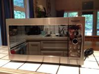 Like new Panasonic 800W High Power stainless steal