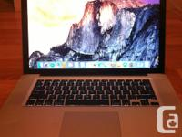 Selling my mid 2009 Macbook Pro which I purchased used