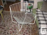 I'm selling my vintage 1980's IKEA Jarpen wire chair in