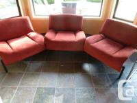 I have two Italian Cassina Veranda model couches in