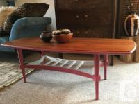 This sweet table is reminiscent of designer Grete